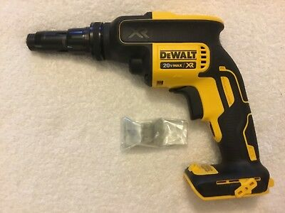 New Dewalt DCF622B 20V MAX XR Versa-Clutch Adjustable Torque Screwgun Brushless