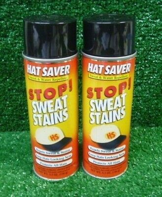 Hat Saver Stop Sweat Stains - 2 Cans
