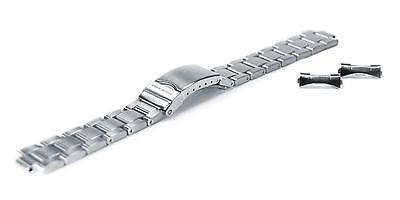 Chris Benz Metal Strap For One Medium 200m 18 mm Silver Ersatzteile