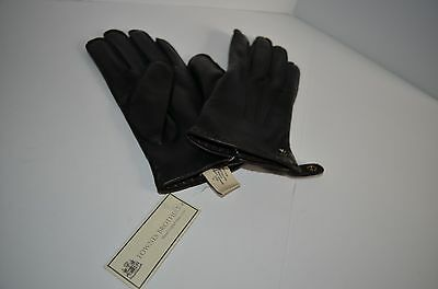 Fownes Brothers Men/'s Boxed Leather Gloves Black Sz XL Luxury Pile Line 1058069