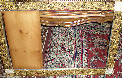 Antique Frame Late 19th Century to Early 20th Cenury  gold Gilt wood as is