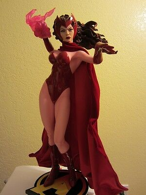 Sideshow Collectibles Scarlet Witch Premium Format Exclusive Statue