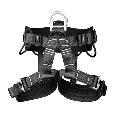 New Professional Safety Rock Climbing Rappelling Harness Seat Sitting Bust Belt