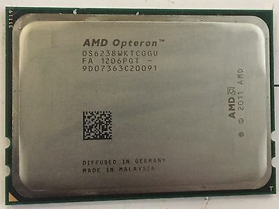 AMD Opteron 6238 2.6GHz 12 Core (OS6238WKTCGGU) Processor