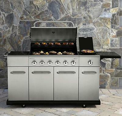 Votenli Stainless Steel Gas Grill Burners 4 Pack S1408A