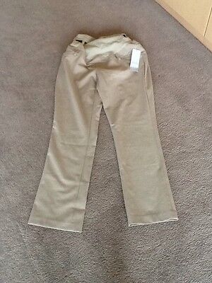 New With Tag Motherhood Maternity Beige Casual Pants Size Petite Small