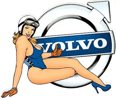 VOLVO Right Pin Up Sticker droit °