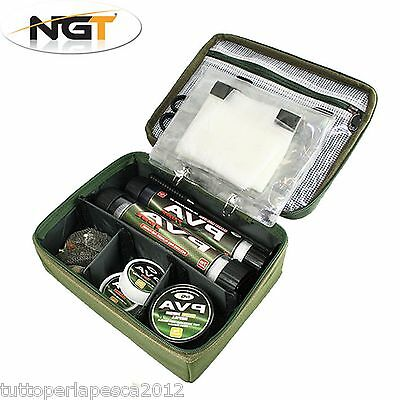 A0568 Ngt Pva Rig Storage Bag Borsa Porta Pva Tackle Carpfishing Carp Boilies
