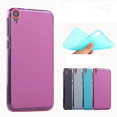 Soft Pudding TPU Gel Silicone Protector Cover cellphone Case skin For HTC