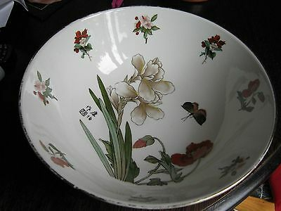 "A Large 10"" Chinese  Bowl"