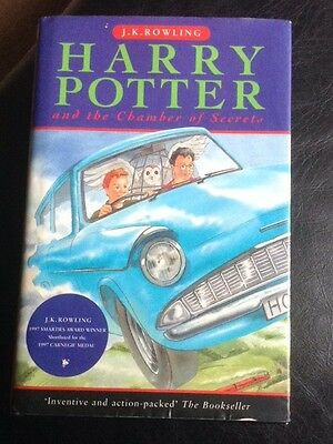 Harry Potter And The Chamber Of Secrets - TRUE HB FIRST PRINTING - J K Rowling