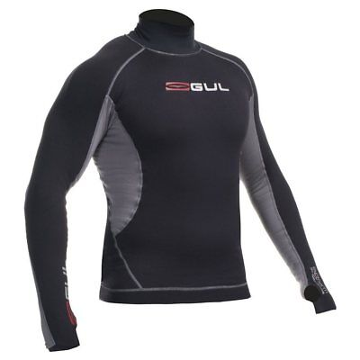 Mens Gul Evotherm Long Sleeve Thermal Rash Guard Vest SIZE XXL