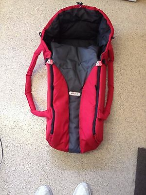 Phil And Teds Newborn Cocoon Baby Carrier - Red