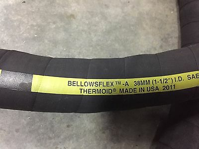 New 12 Foot Marine Boat Fuel Fill Hose 1 12 Thermoid Bellowsflex