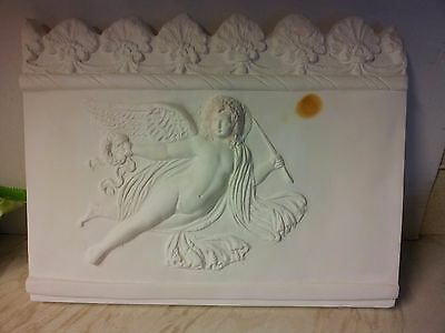 awesome large vintage..British Museum ....wall hanging plaster plaque