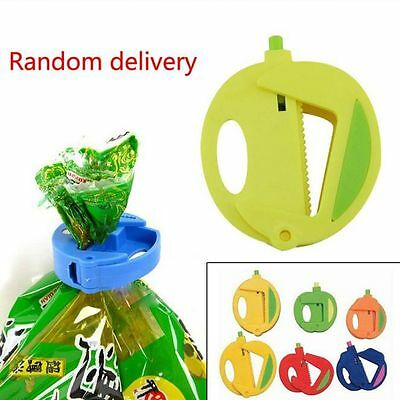 Home Portable Keeping Fresh Tool Food Snack Sealing Clips Bag Clip Clamp Sealer