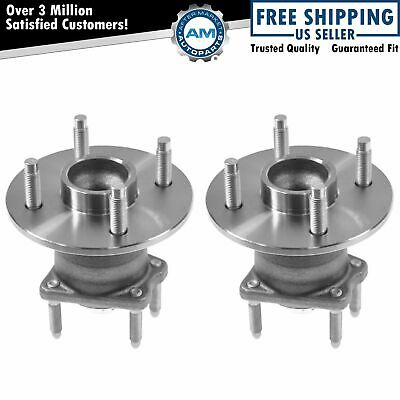 Rear Wheel Hub & Bearing Left & Right Pair Set for Cobalt G5 Pursuit w/o ABS