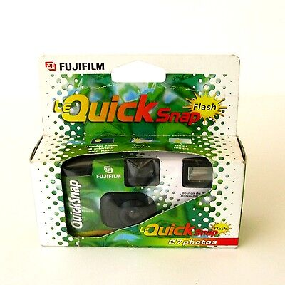 Appareil photo jetable avec flash 27poses FUJIFILM - LE QUICK SNAP FLASH -