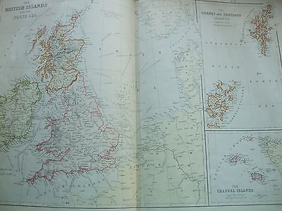 The Comprehensive Atlas & Geography Of The World Six Maps 1800S Large Engraving