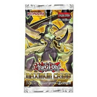 Yugioh, Maximum Crisis Booster 1st deutsch