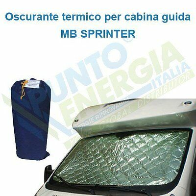 Darkening internal thermal MB Sprinter cab Guide 3 pieces Camper