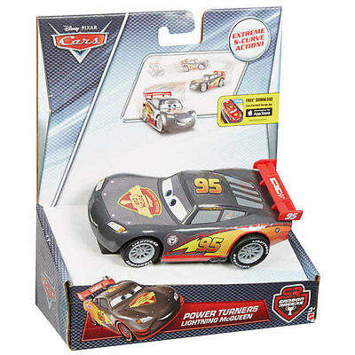 Disney Pixar Cars 1:43 Scale Power Turners LIGHTNING McQUEEN Pullback Vehicle