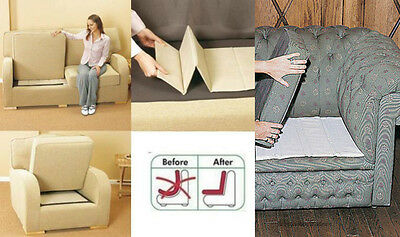Sofa Rejuvenate Rejuvenator Boards Settee Seat Support 1 2 3 Seater for Sagging