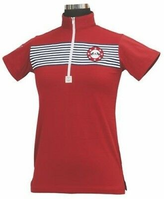 Equine Couture Patriot Polo Shirt Child S/S
