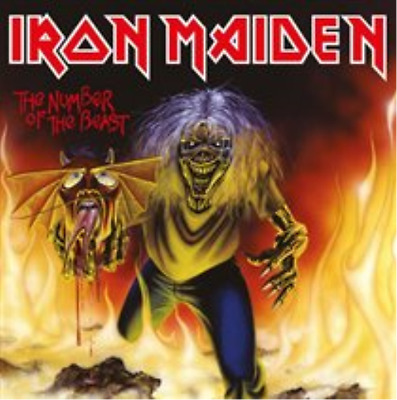 """Iron Maiden-The Number of the Beast  (UK IMPORT)  Vinyl / 7"""" Single NEW"""