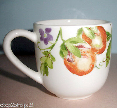 Gien France Passiflore Espresso Cup New