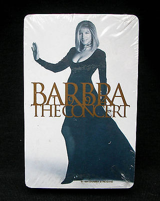 BARBRA STREISAND The Concert MGM Las Vegas 1994 Playing Cards MINT- STILL SEALED