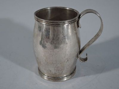 Antique Mug - Large Cup with Beautiful Patina - South American Silver - C 1850