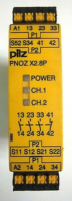 PNOZ X2.8P C, 24-240V AC/DC, Cage Clamp Terminals, 3N/O 1N/C Safety Relay - NEW!