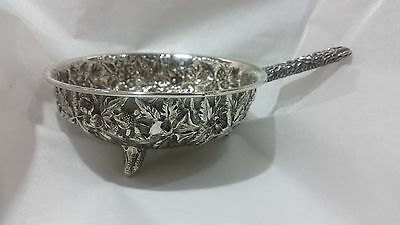 Rare Kirk & Son 11 Oz. Sterling Silver Bowl  1850's