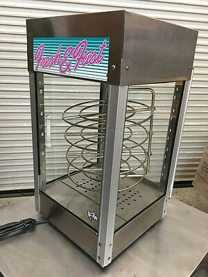 Heated Rotating Pizza Warming Display Case #6222 Commercial Pizza Warmer