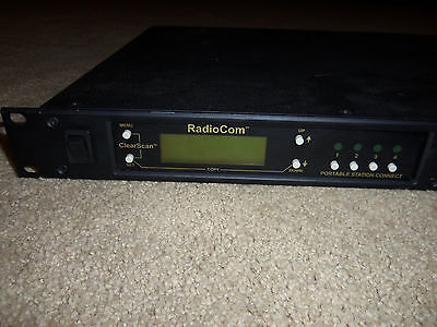 Telex RadioCom UHF Single Channel Wireless Intercom Base Station A2 Band