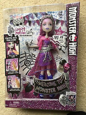 Monster High Dance the Fright Away Singing Popstar Doll Ari Hauntington