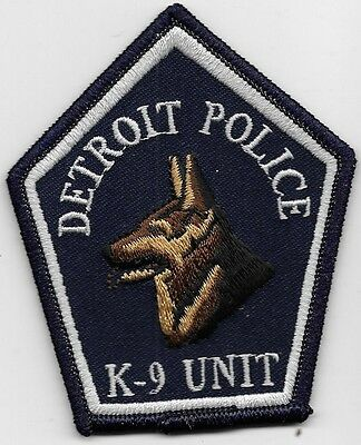 Detroit Mich Mi Police Dept K9 K-9 Canine Dog Team Dpd Pd They Will Catch You