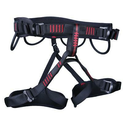Safety Rock Climbing Harness Sitting Bust Belt Downhill Rescue Tree Carving