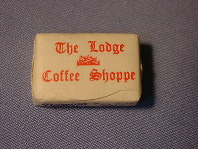 Vintage The Lodge Coffee Shoppe New York City Sugar Cube