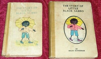 1900 & 1903 Little Black Sambo, Stokes, First American Editions: First Printings