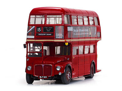 1960 Routemaster Double Decker Bus Red Rm324-Wlt324 1:24 Diecast By Sunstar 2919