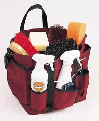Roma Deluxe Grooming Tote for Carrying Brush and Horse Grooming Tools