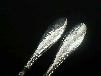 Silver Shoe Horn & Button Hook, c.1910, Synyer & Beddoes