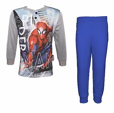 Pigiama bimbo manica lunga cotone SPIDERMAN marvel art. MV11-202