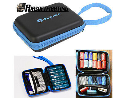 Olight High Quality Battery Storage Box Flashlight Case for Battery Torch