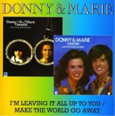 Donny And Marie Osmond-I'm Leaving It All Up to You  (UK IMPORT)  CD NEW