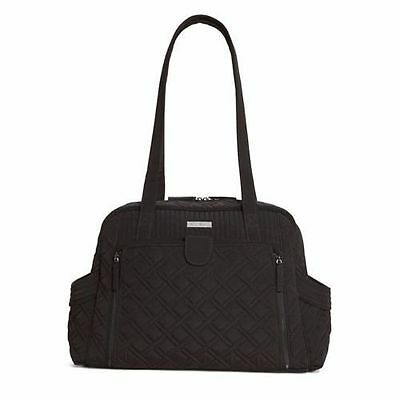 New VERA BRADLEY 'MAKE A CHANGE' BABY DIAPER BAG /changing pad in Classic Black
