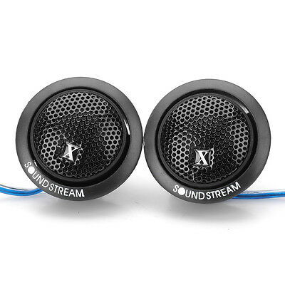 Black DC 12V 500W Tweeters Component Speakers For Car Stereo Audio System Pair