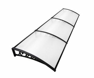 New Diy Window Door Awning Cover Transparent 100 X 300Cm Canopy Balcony Cover